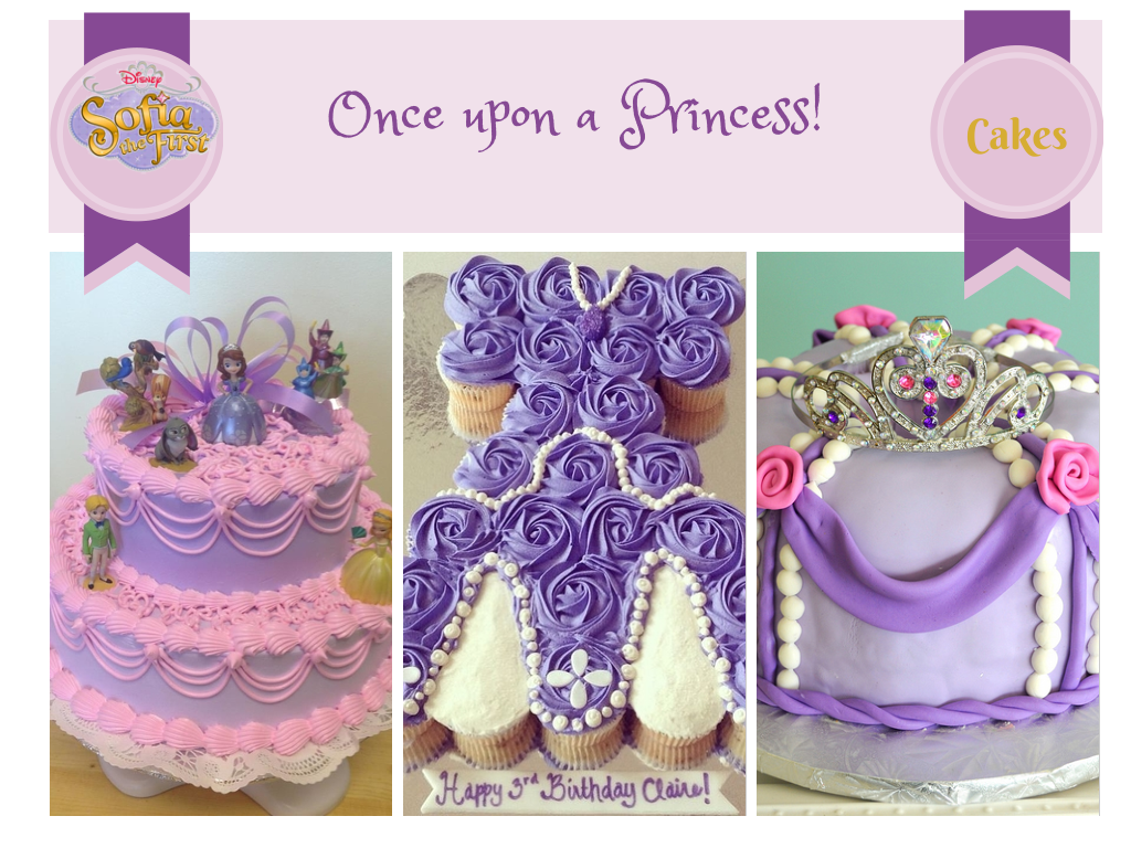 Sofia The First Birthday Cake Ideas