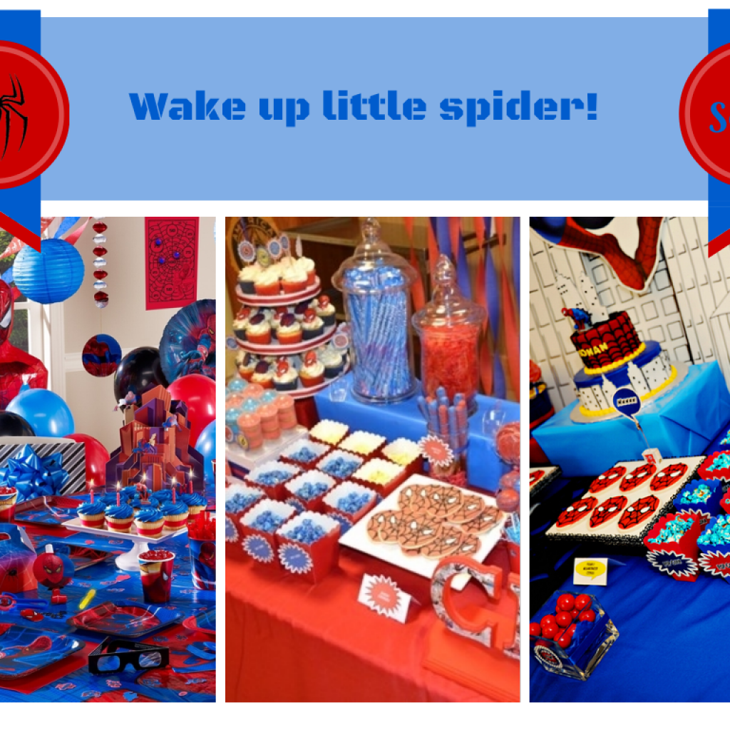 Spiderman Party Kids Inflatable Party